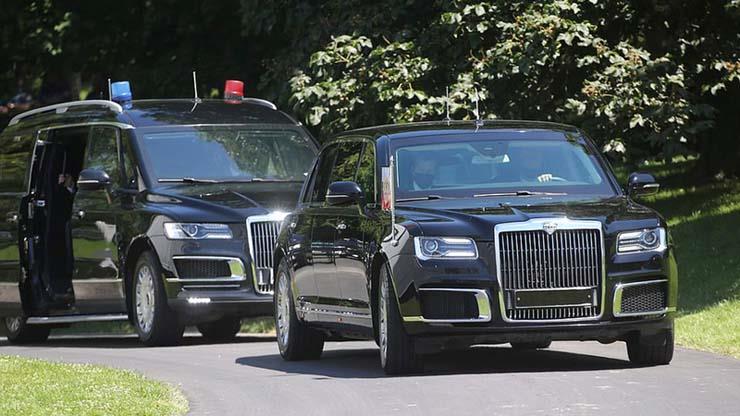 سيارة الرئيس الروسي بوتين