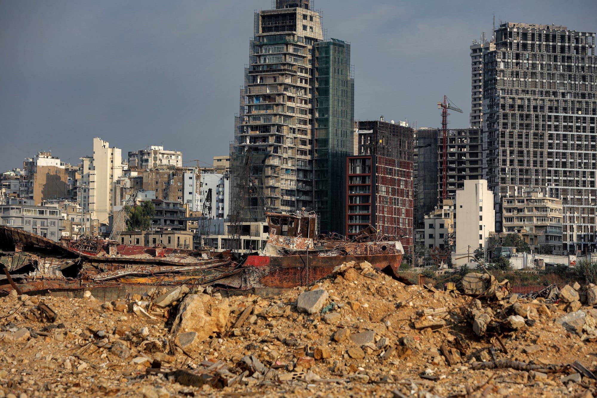 من مرفأ بيروت (أرشيفية من فرانس برس)