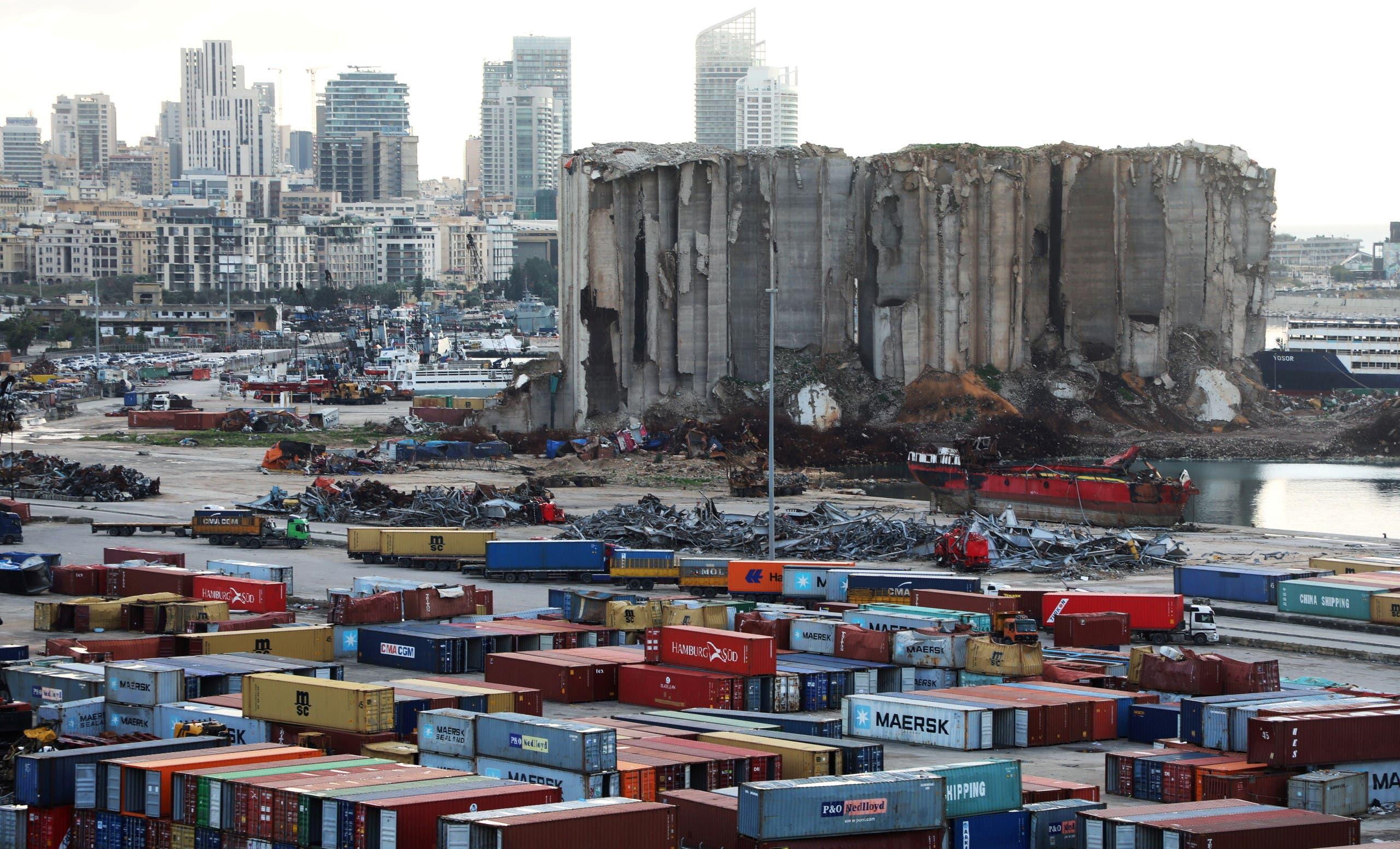 مرفأ بيروت (أرشيفية- رويترز)